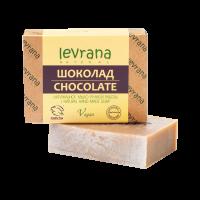 """Натуральное мыло ручной работы """"Шоколад"""" Levrana"""