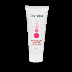 Зубная паста Противокариесная, укрепляющая зубную эмаль, Levrana